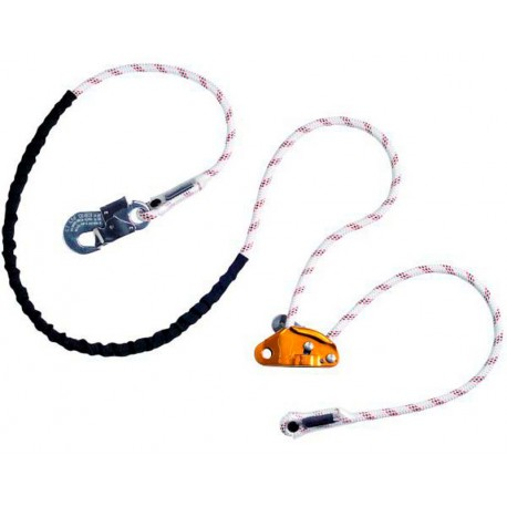 GRILLON HOOK 11mm. (CON CONECTOR) EN 358-12841 EAC EN362