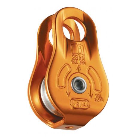 POLEA FIXE  23kN PASO de 7 a 13mm. Placas fijas   CE  EN12278