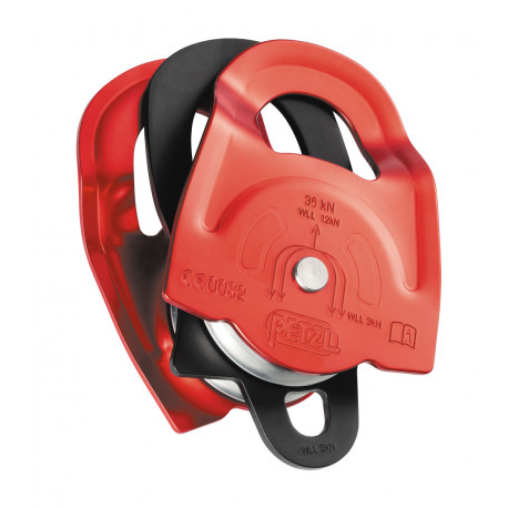 POLEA TWIN DOBLE DE 7 A 13MM. 36KN CE EN12278 PETZL