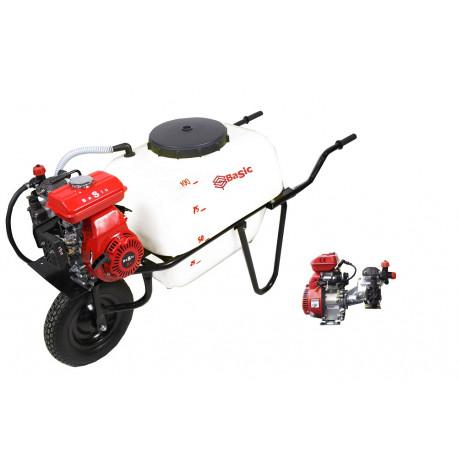 CARRETILLA 100L GRUPO GMB 600 M (1 RUEDA) MOTOR ELECTRICO 20 BAR.
